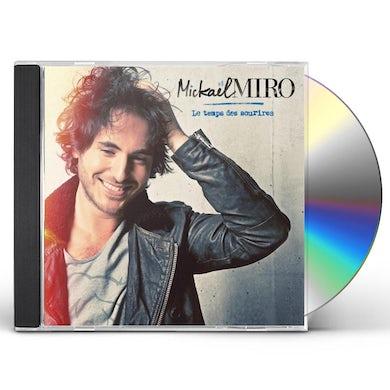 Mickael Miro LE TEMPS DES SOURIRES CD