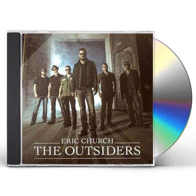 Eric Church The Outsiders CD