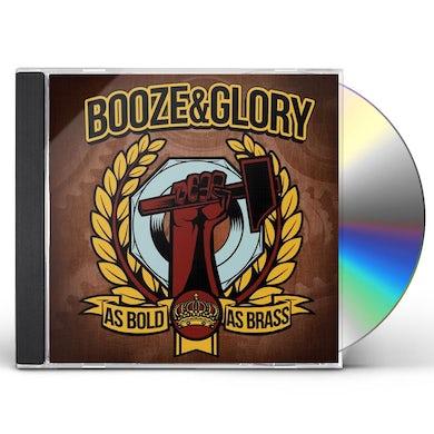 Booze & Glory AS BOLD AS BRASS CD