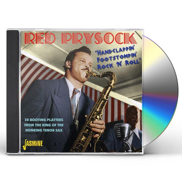 Red Prysock HANDCLAPPIN FOOTSTOMP CD