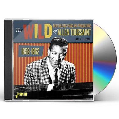 Allen Toussaint WILD NEW ORLEANS PIANO & PRODUCTIONS OF ALLEN CD