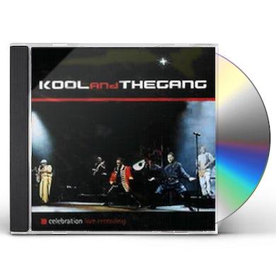 Kool & The Gang CELEBRATION-LIVE RECORDING CD
