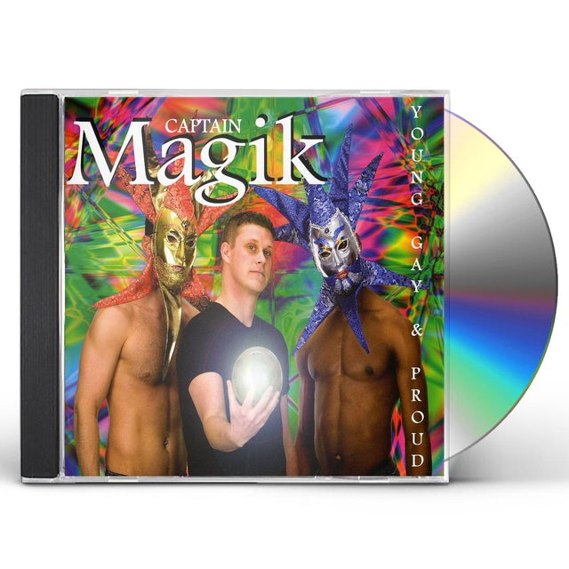Captain Magik YOUNG GAY & PROUD CD