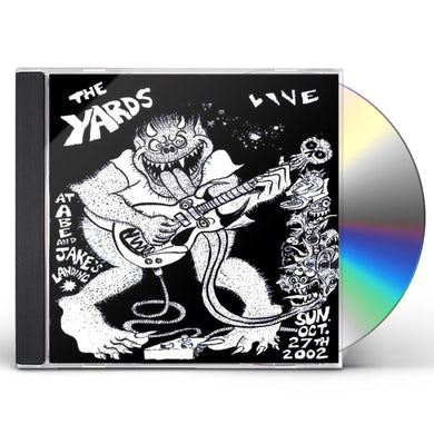 Yards LIVE AT ABE & JAKE'S LANDING CD