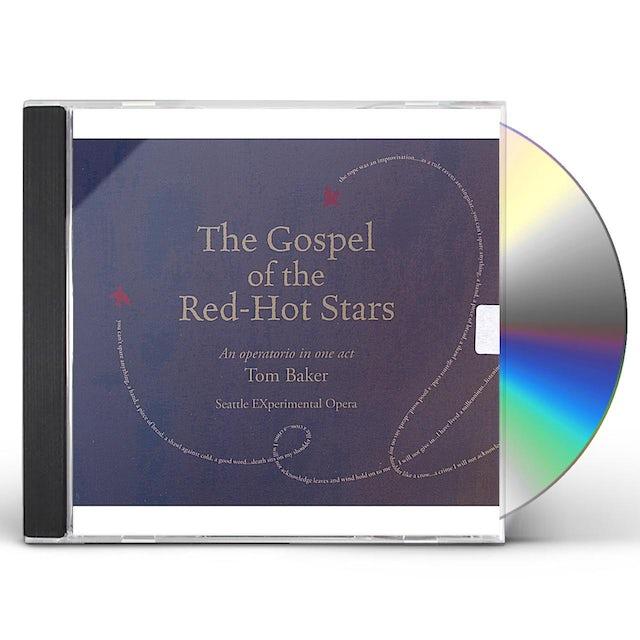 Tom Baker GOSPEL OF THE RED-HOT STARS CD