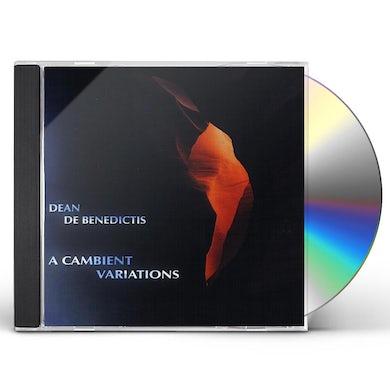 Dean De Benedictis CAMBIENT VARIATIONS CD