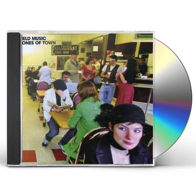Field Music TONES OF TOWN CD