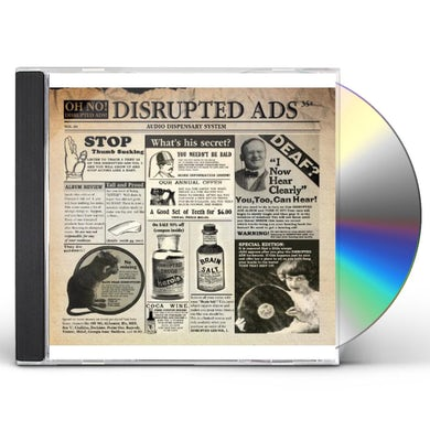 DISRUPTED ADS CD