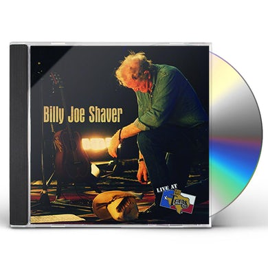 Billy Joe Shaver LIVE AT BILLY BOB'S TEXAS CD