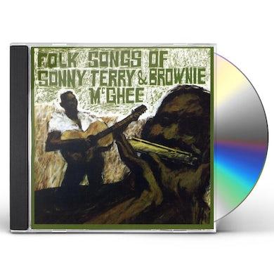 FOLK SONGS OF Sonny Terry / Brownie McGhee  CD