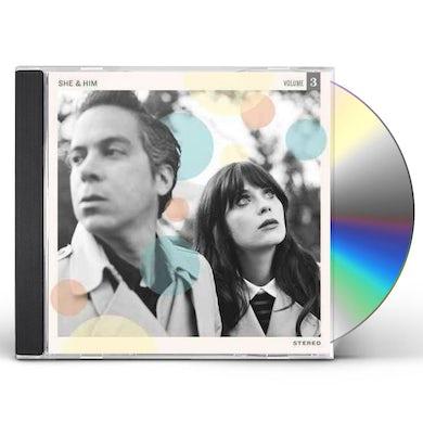 She & Him VOLUME 3 CD