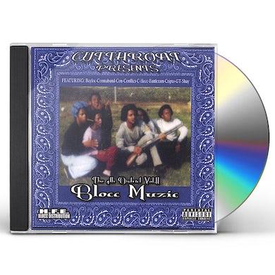 Cutthroat 4TH DISTRICT: BLOCC MUZIC 2 CD