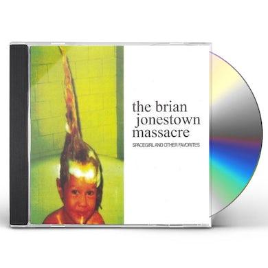 The Brian Jonestown Massacre SPACE GIRL & OTHER FAVORITES CD