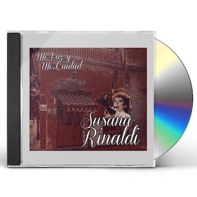 Susana Rinaldi MI VOZ Y MI CIUDAD CD