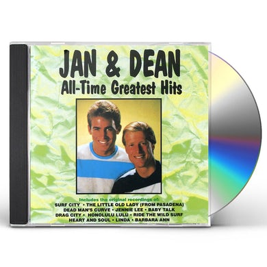 Jan & Dean ALL-TIME GREATEST HITS CD