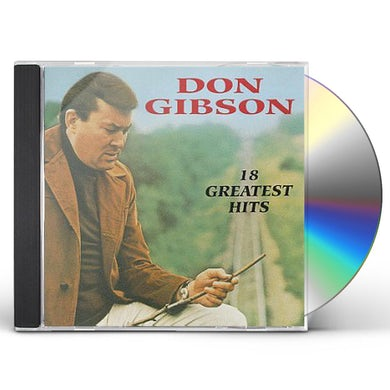 Don Gibson 18 GREATEST HITS CD