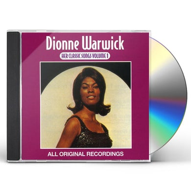 Dionne Warwick HER CLASSIC SONGS CD