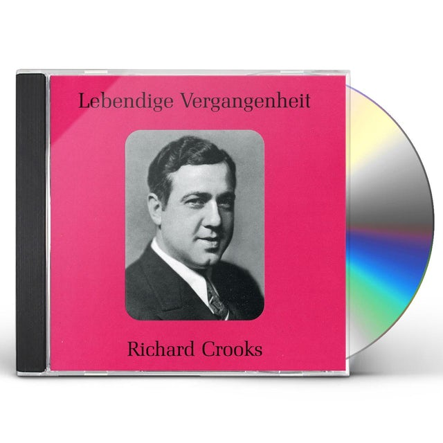 Richard Crooks LEGENDARY SINGERS CD
