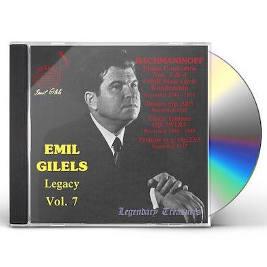 Emil Gilels LEGACY 7 CD