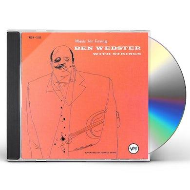 Ben Webster MUSIC FOR LOVING CD