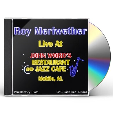 Roy Meriwether LIVE AT JOHN WORD'S CD