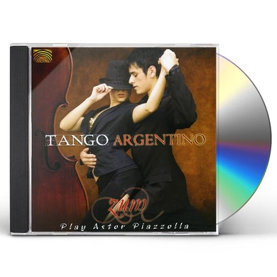 TANGO ARGENTINO: ZUM PLAY ASTOR PIAZZOLLA CD