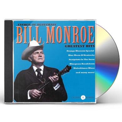 Bill Monroe Greatest Hits CD