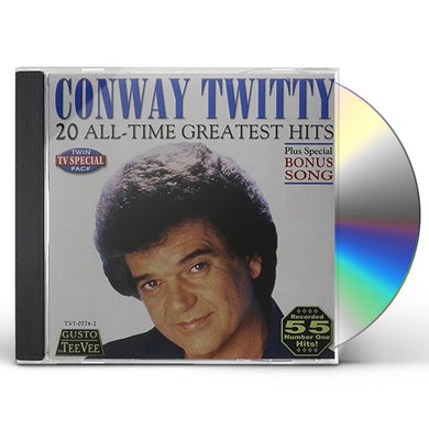 Conway Twitty 20 ALL TIME GREATEST HITS CD