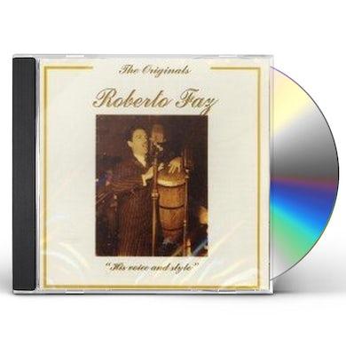 Roberto Faz HIS VOICE & STYLE CD