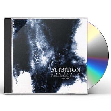 Attrition ESOTERIA CD