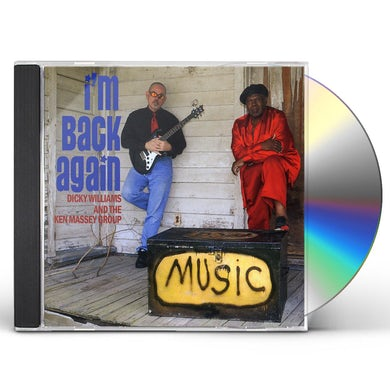 Dicky Williams I'M BACK AGAIN CD