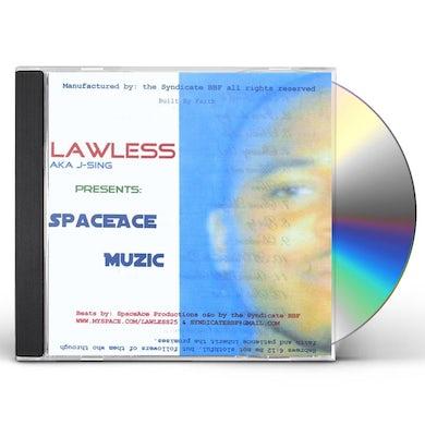 Lawless SPACEACE MUZIC CD