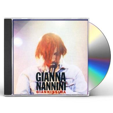 Gianna Nannini GIANNISSIMA CD