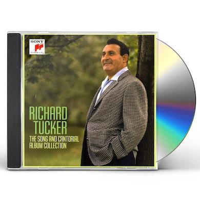 Richard Tucker SONG & CANTORIAL ALBUM COLLECTION CD
