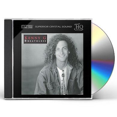 Kenny G BREATHLESS (UHQCD) CD