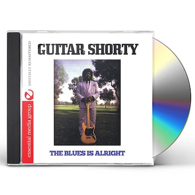 Guitar Shorty BLUES IS ALRIGHT CD