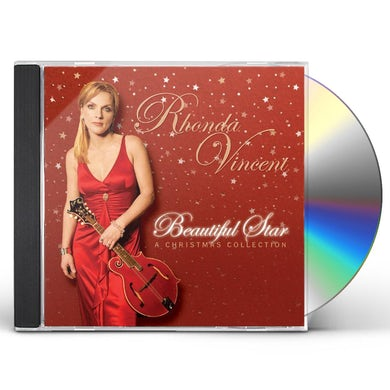 Rhonda Vincent BEAUTIFUL STAR: A CHRISTMAS COLLECTION CD