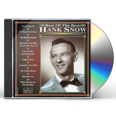 Hank Snow BEST OF THE BEST CD