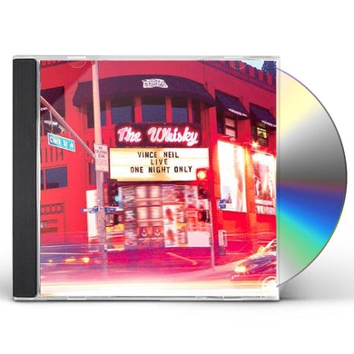 Vince Neil LIVE ONE NIGHT ONLY CD