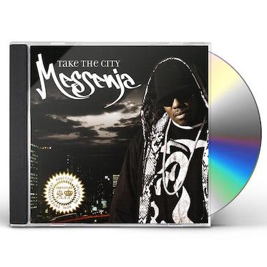 Messenja TAKE THE CITY CD