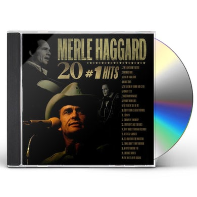 Merle Haggard 20 #1 HITS CD