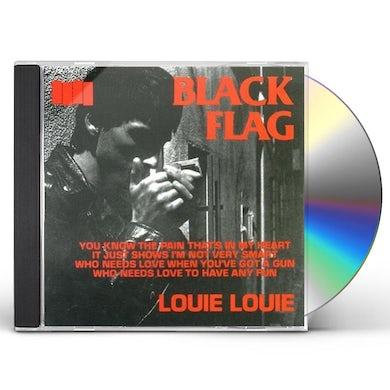Black Flag LOUIE LOUIE CD