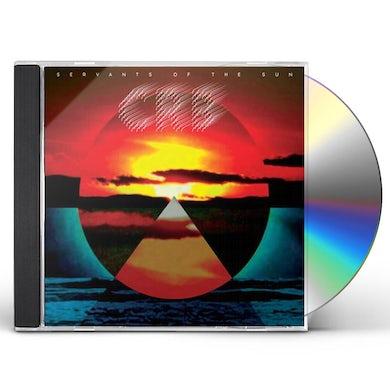 Chris Brotherhood Robinson Servants Of The Sun CD