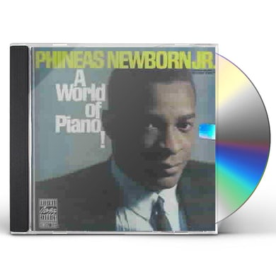 Phineas Newborn WORLD OF PIANO CD