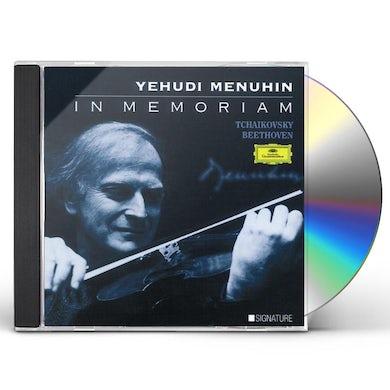 Yehudi Menuhin IN MEMORIAM CD