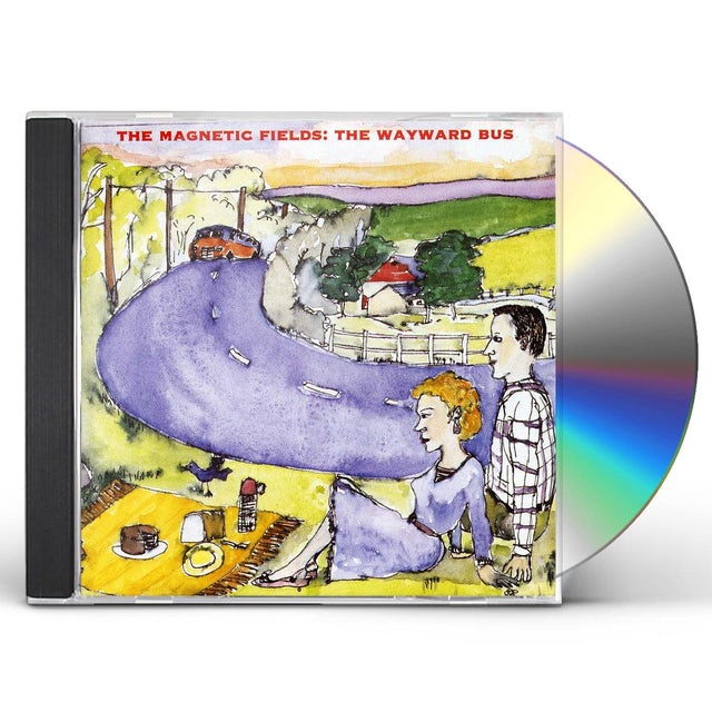 The Magnetic Fields WAYWARD BUS & DISTANT PLASTIC TREES CD
