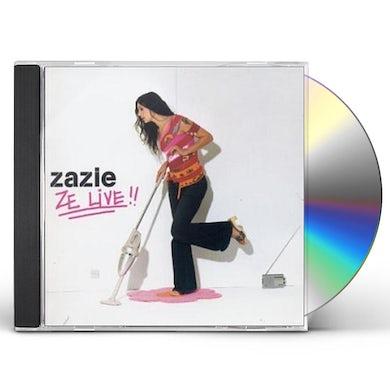 Zazie ZE LIVE CD