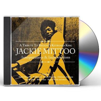 TRIBUTE REGGAE'S KEYBOARD KING JACKIE MITTOO / VAR CD
