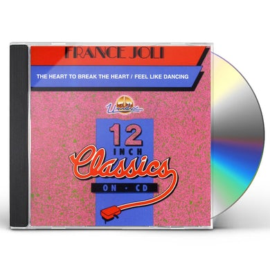 France Joli FEEL LIKE DANCING / THE HEART TO BREAK THE HEART CD