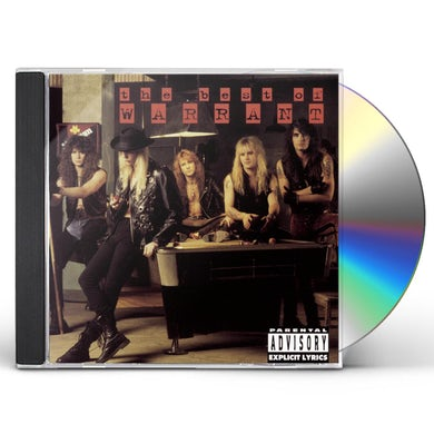 Warrant BEST OF CD